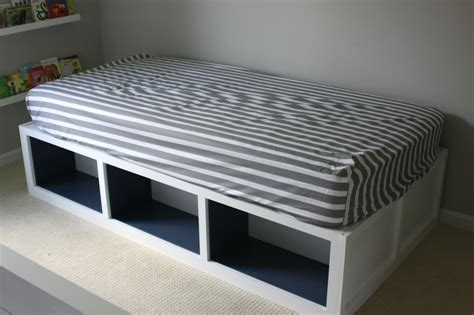 White Daybed With Storage White Daybed With Open Storage Decofurnish