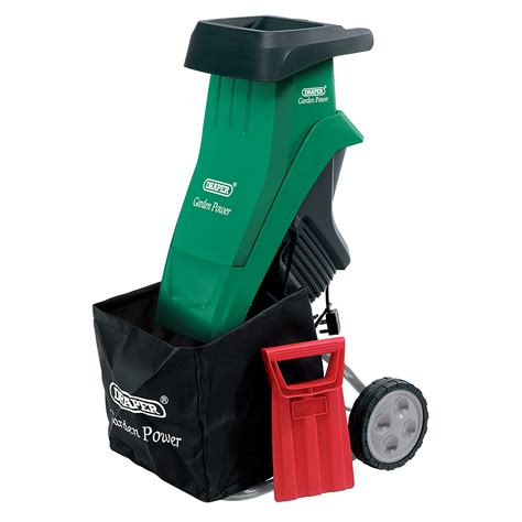 Gardener S Supply Company Leaf Shredder Draper 2400w 230v Garden Gardening Leaf Shredder Shredding