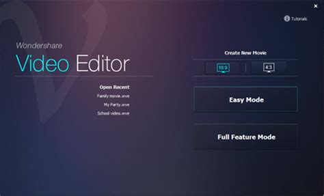 Wondershare Video Editor Download Wondershare Editor Templates
