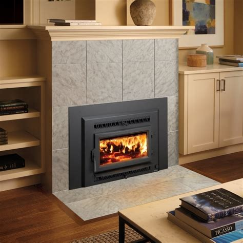 Small Wood Burning Fireplace Inserts by Fireplace Xtrordinair Small Flush Wood Hybrid Insert