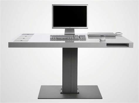 modern computer desks for small spaces home interior