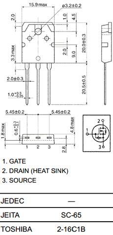 transistor mosfet k2611 k2611 datasheet pdf toshiba datasheet k2611