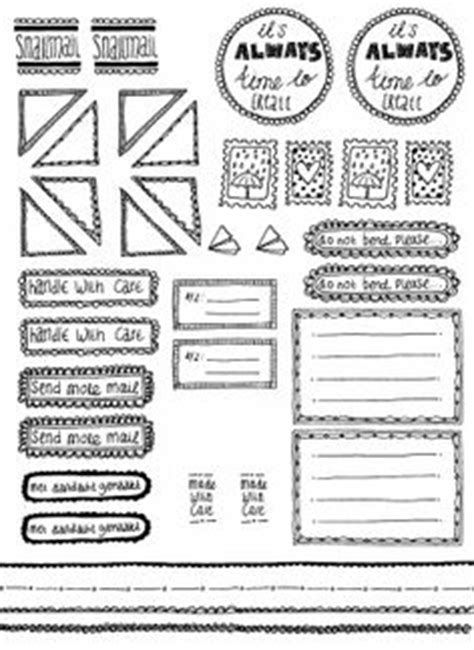 free doodle labels 8 best images of doodle border free printable label