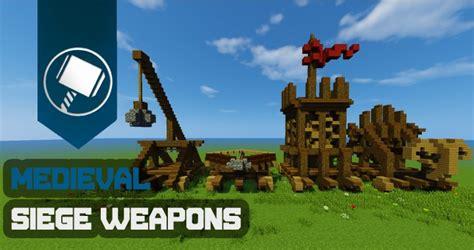 minecraft siege siege weapons tutorial minecraft project