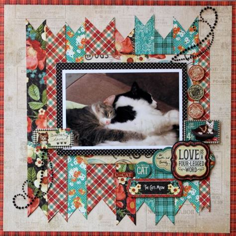 scrapbook layout cat 28 best images about scrapbooking my cat on pinterest