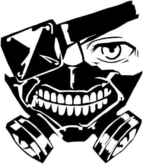 Stiker Sticker Anime Tokyo Ghoul Kaneki tokyo ghoul kaneki mask anime decal kyokovinyl
