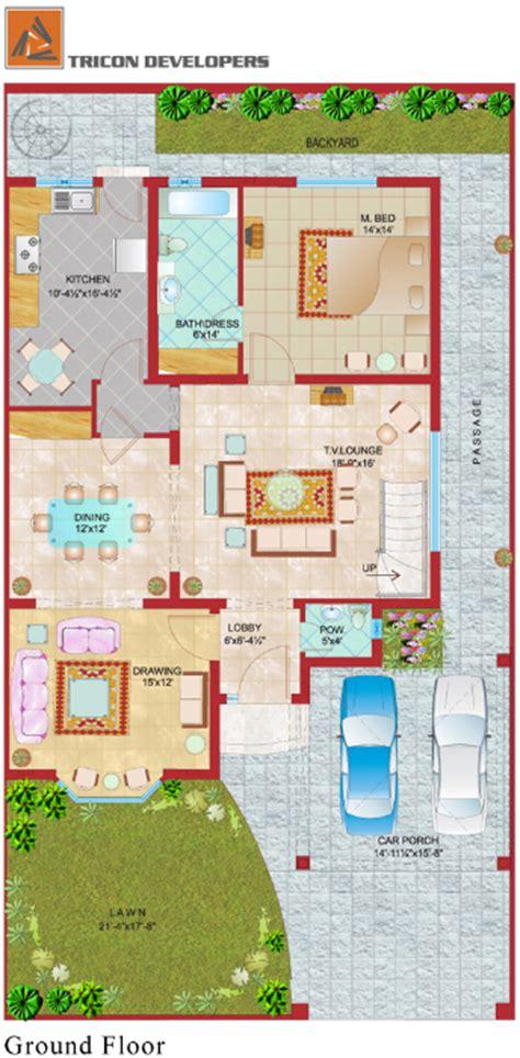 Ultimate House Plans floor plan tricon village
