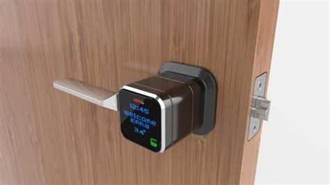 Unlock The Front Door Unlock Your Front Door By Using Your Smartphone From Anywhere