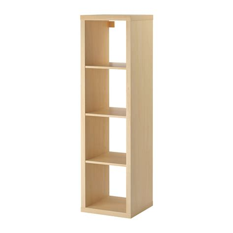 Recycled Timber Tv Cabinet Kallax Shelving Unit Birch Effect Ikea