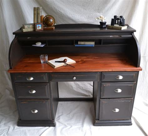 roll top desk makeover pin by cindy rooney on cabin pinterest