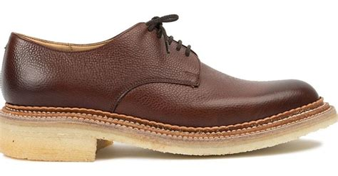 Nick Brown Sneakers foot the coacher nick wooster nw2 derby shoes in brown for lyst