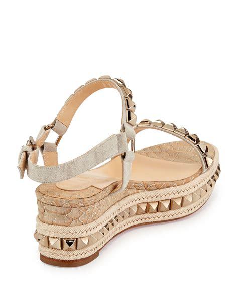 Prad A Nilon Kanvas 32cm Mirror Quality christian louboutin studded espadrille sandals christian