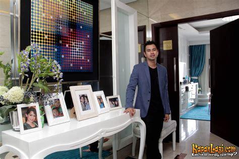 desain interior rumah raffi ahmad mewah dan nyaman apartemen raffi ahmad penuh warna tosca