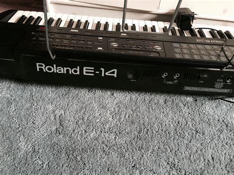 Keyboard Roland E14 roland e14 intelligent keyboard catawiki