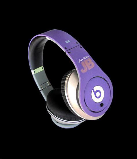 Beats By Dr Dre Studio Headphones Black Limited beats by dr dre studio justbeats justin bieber limited edition headphones purple beats 247