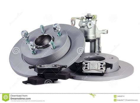 Auto Spar by Spare Parts For Car Brake Mechanism Stock Images Image