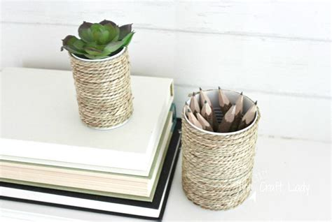 tin can crafts tin can craft with rope the craft