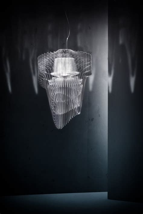Zaha Hadid Chandelier Transparent Chandelier By Zaha Hadid For Sl 187 Retail Design