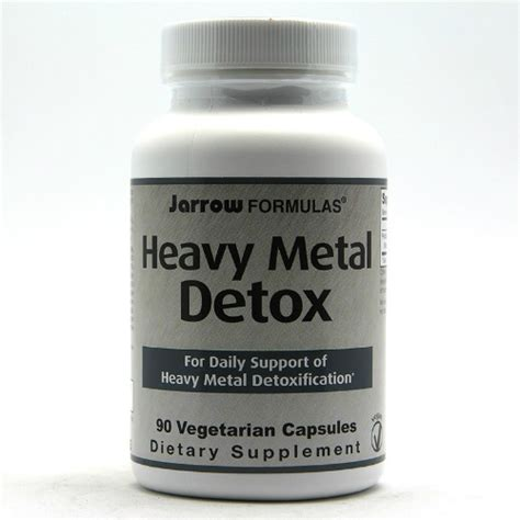 Heavy Metal Detox Quickly Redistribution by Heavy Metal Detox 90 Caps 0 00ea From Jarrow