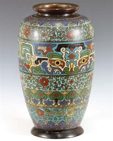 ming dynasty style cloisonne vase