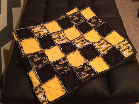 Steelers Quilt by 1000 Images About Steelers Rag Quilts On