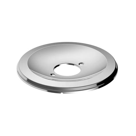 Escutcheon Plate Plumbing by Glacier Bay Aragon Escutcheon Plate Chrome Rp90011 The
