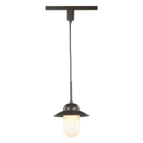 Track Lights With Pendants Commercial Electric Led Carriage Linear Track Direct Wire Pendant Ds4017abz The Home Depot