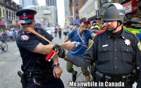 Pepper Spray Cop Meme - image 242745 casually pepper spray everything cop