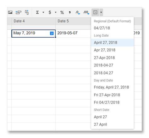 apply standardized date formats   sheet smartsheet learning center