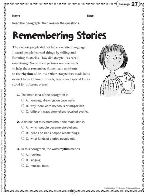 Reading Comprehension Worksheets 4th Grade Common by Reading Comprehension Worksheets 2nd Grade Free Worksheets