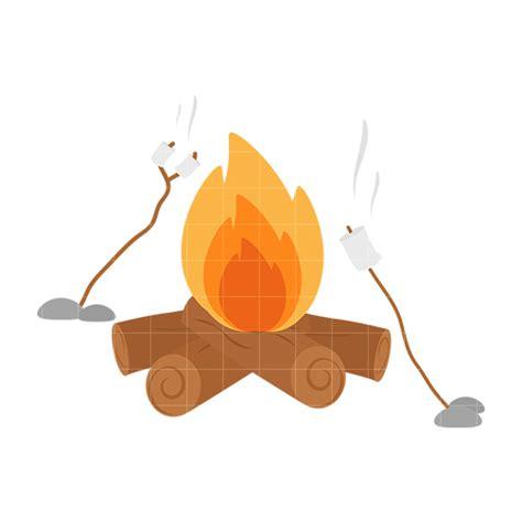 Marshmallow Fire Clipart (13 )