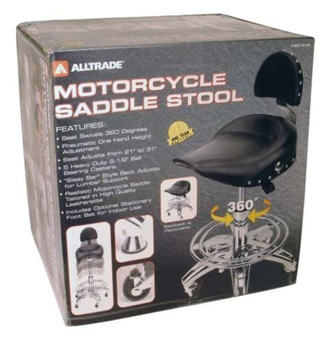 Motorcycle Seat Garage Stools by Alltrade Motorcycle Saddle Stool By Alltrade 119 00