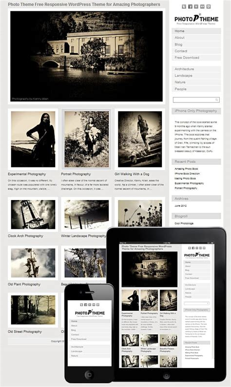 wordpress photoblog themes wordpress photography themes free 2018 dessign themes