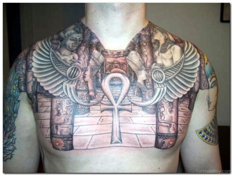 egyptian chest tattoos tattoos designs pictures page 11