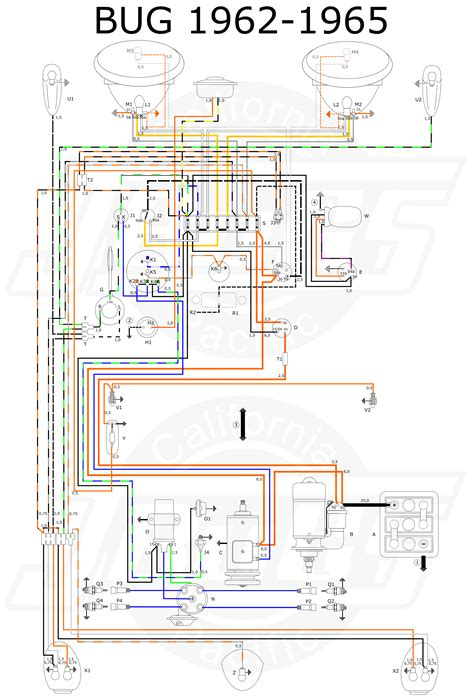 61 vw wiring diagram volkswagen beetle diagrams vw