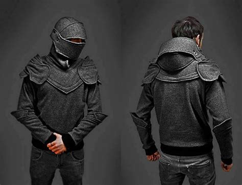Armour Kaos Oblong Tr01 Black suit hoodie images