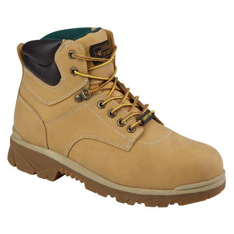 steer s maximus wheat steel toe work boot