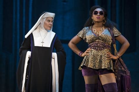 game of thrones actress who voices goons theatre review sister act shines at the fabulous fox