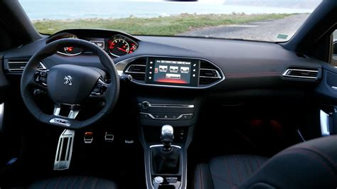 peugeot 308 interior peugeot 308 gt im test fahrbericht autogef 252 hl