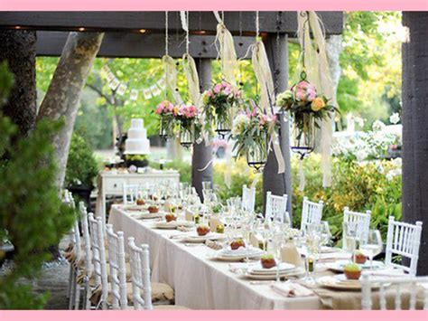 Garden Wedding Decoration Ideas Outdoor Country Wedding Decoration Ideas Wedding And