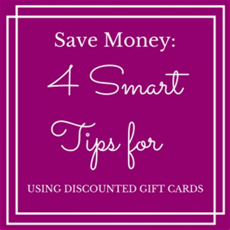 Best Place To Buy Discounted Gift Cards - save money 4 smart tips for using discounted gift cards karen cordaway