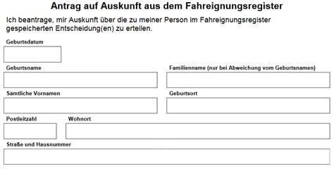 Punkte Flensburg Abfragen Kostenlos flensburg punkte abfragen mit formular zum ausdrucken