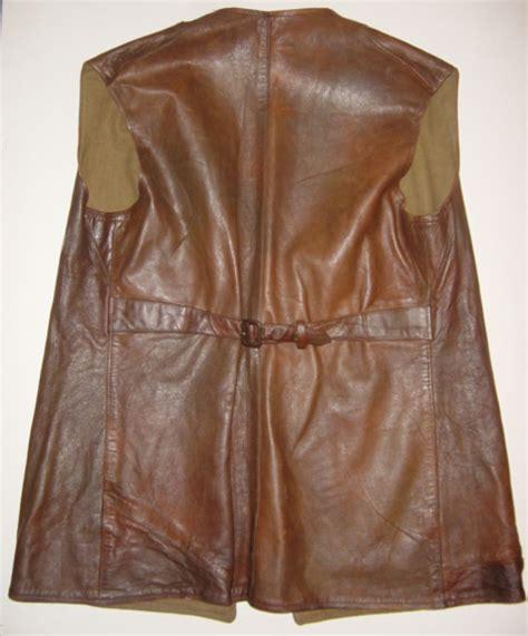 pattern white leather jerkin the british leather jerkin
