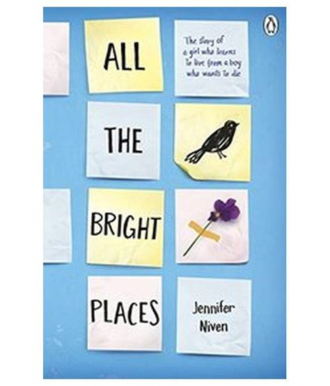 all the bright places all the bright places buy all the bright places online at low price in india on snapdeal