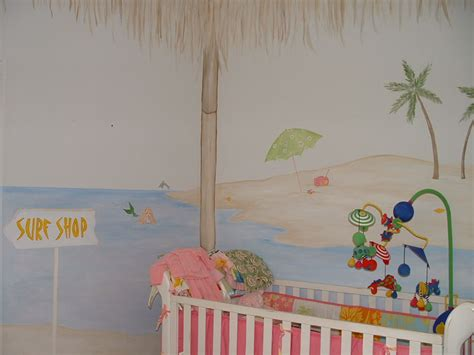 wall murals for baby rooms bamboo cabana theme mural