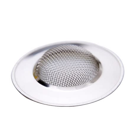 bathroom sink hair strainer 1pcs stainless steel sink strainer bathtub hair catcher