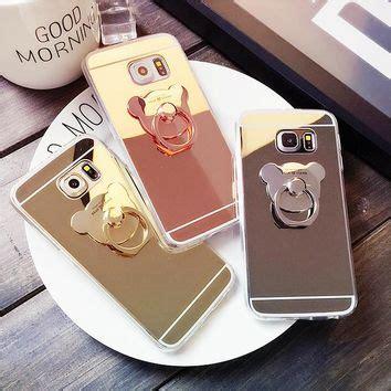 Samsung Galaxy J3 Soft Ring Holder Capung Silver shop kawaii phone on wanelo