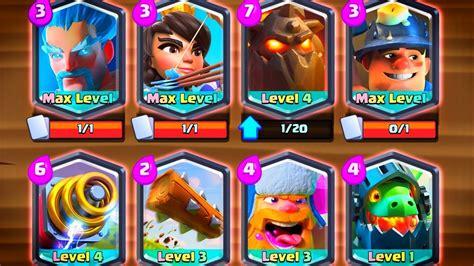 Clash Royale Legendary all 8 legendary card deck clash royale