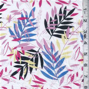 black blue leaf print lawn 17060 fashion fabrics