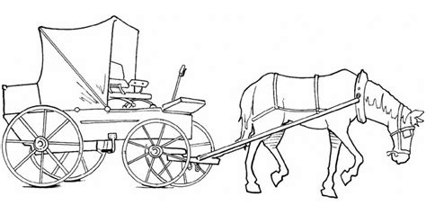 coloring pages of and buggy and cart coloring pages getcoloringpages